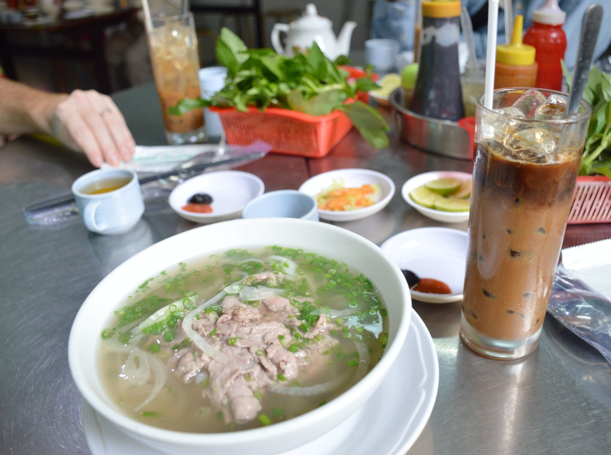 Pho Saigon Street Eats Vietnam Double-Barrelled Travel