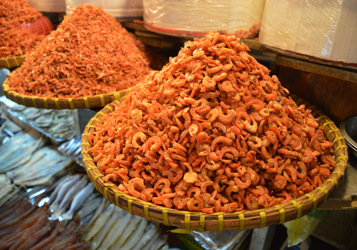 Prawns Market Saigon Street Eats Vietnam Double-Barrelled Travel