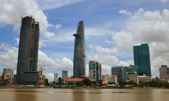 Saigon District 1 skyscrapers Double-Barrelled Travel