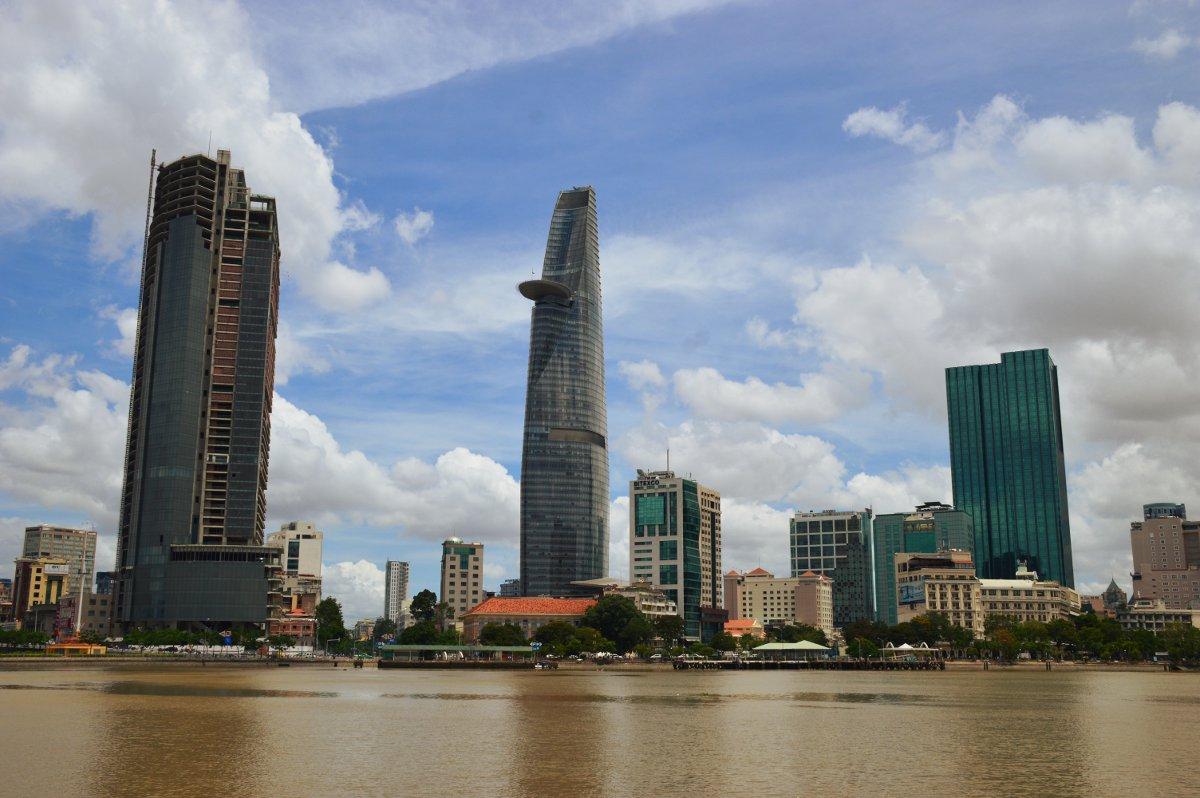 Saigon District 1 skyscrapers Double-Barrelled Travel