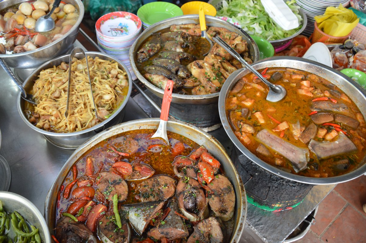 Street food Saigon Street Eats Vietnam Double-Barrelled Travel
