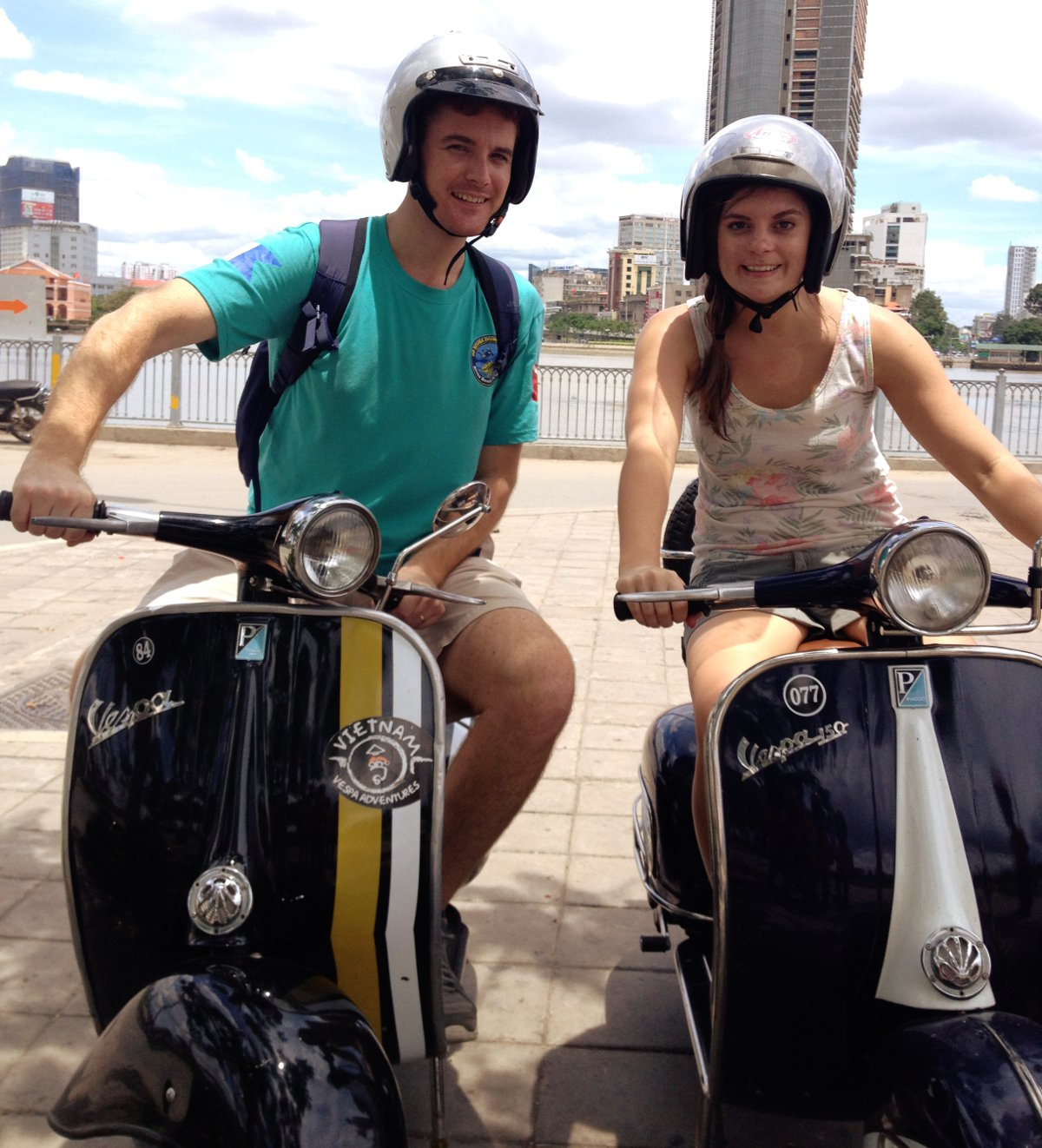 Vietnam Vespa Adventures Saigon Double-Barrelled Travel
