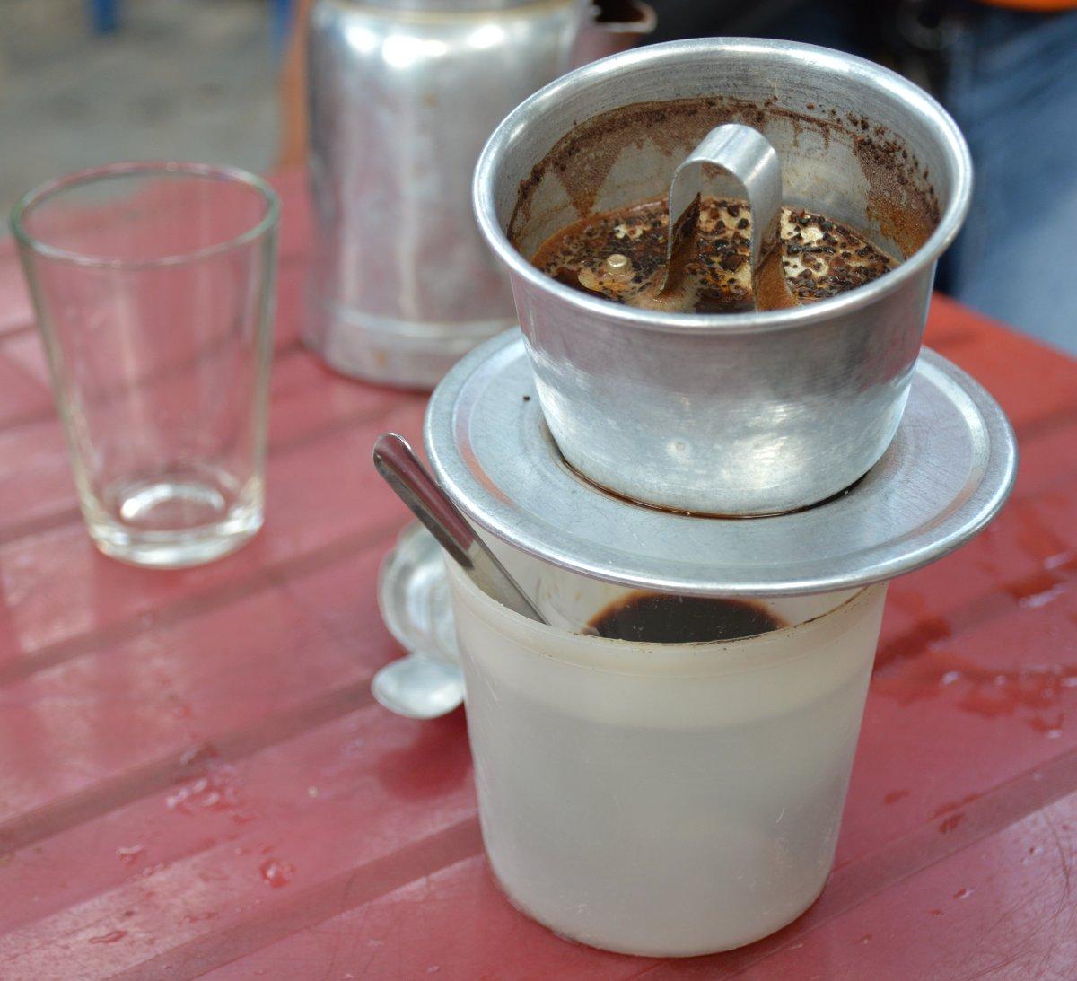 Vietnamese coffee Saigon Double-Barrelled Travel