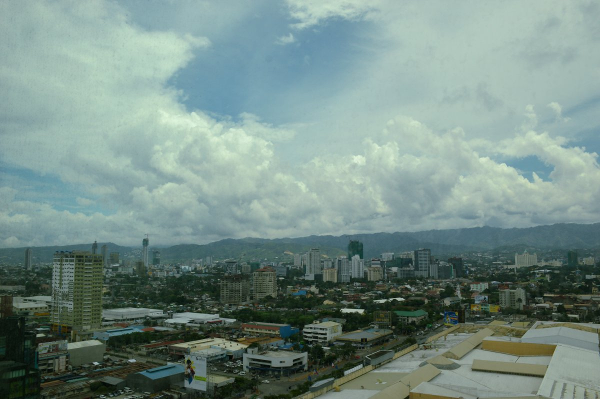 View from Radisson Blu Cebu Double-Barrelled Travel