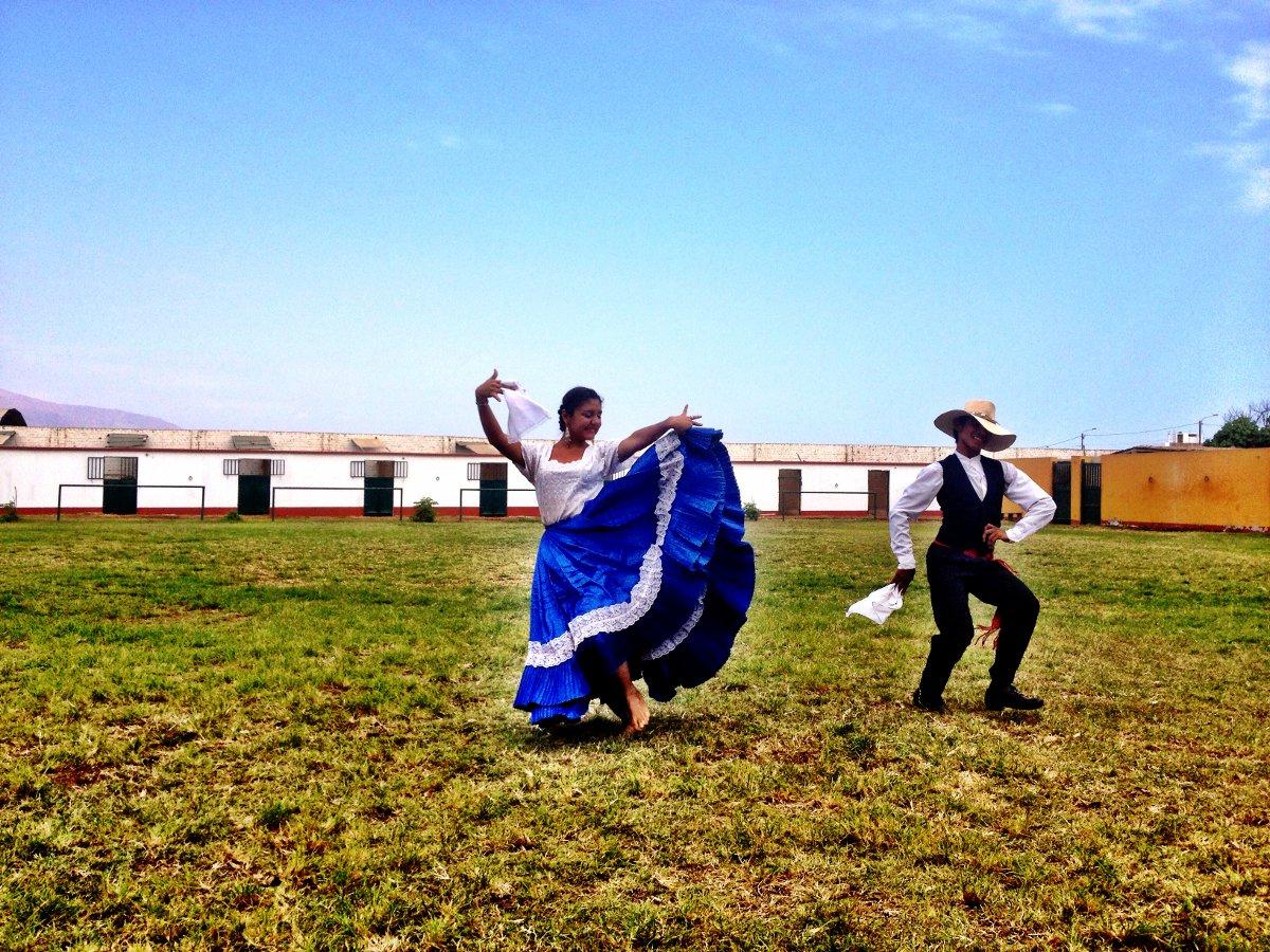 Dancing Peru Double-Barrelled Travel