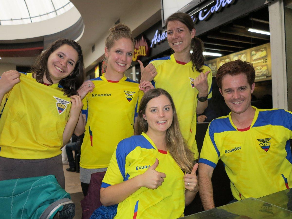 Ecuador World Cup Double-Barrelled TravelEcuador World Cup Double-Barrelled Travel