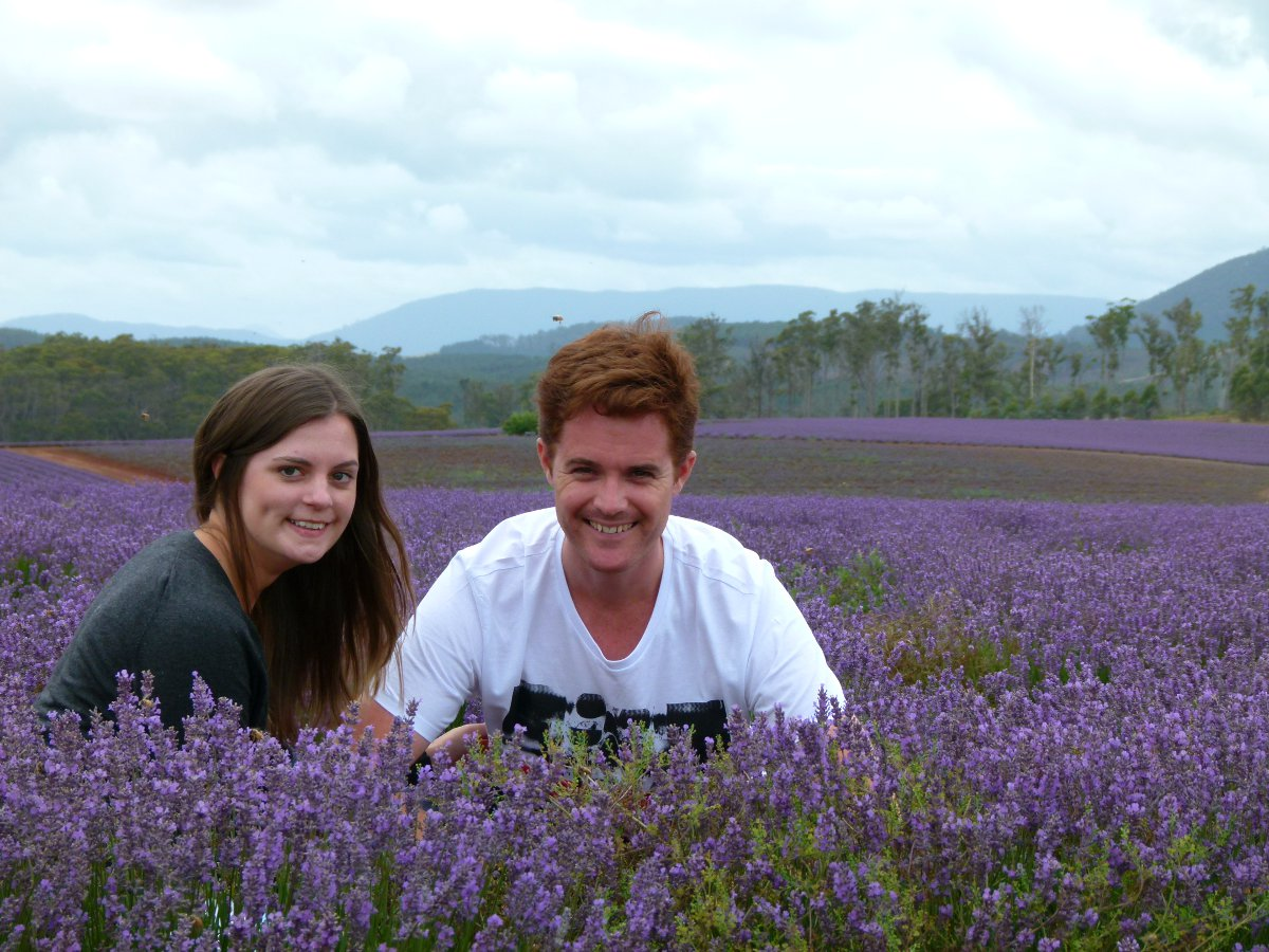 Lavender field Double-Barrelledtravel