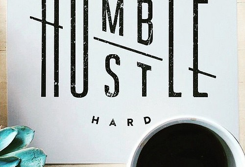 Stay humble and hustle hard Double-Barrelled Travel