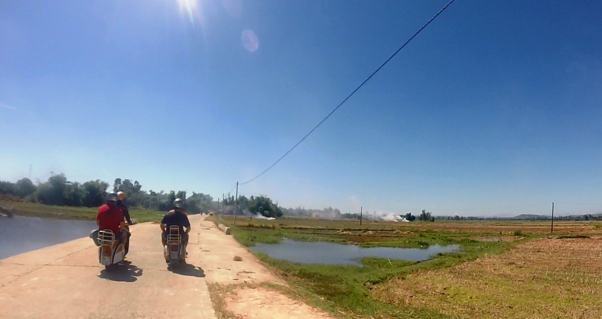 Vietnam Vespa Adventures Double-Barrelled Travel