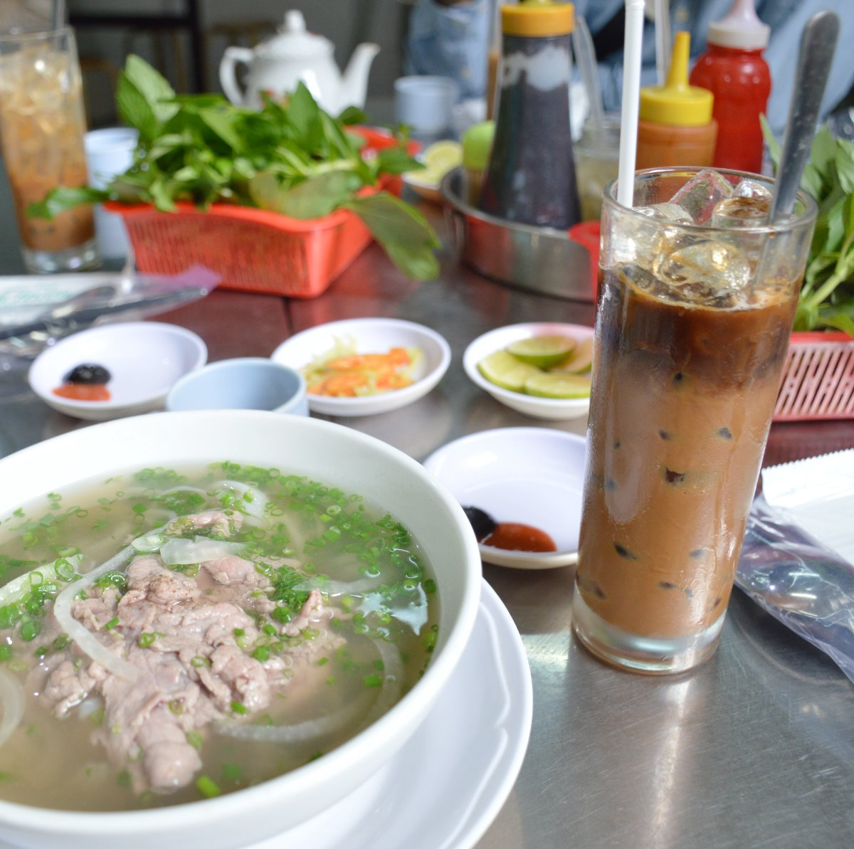 Vietnamese coffee with pho Double-Barrelled Travel