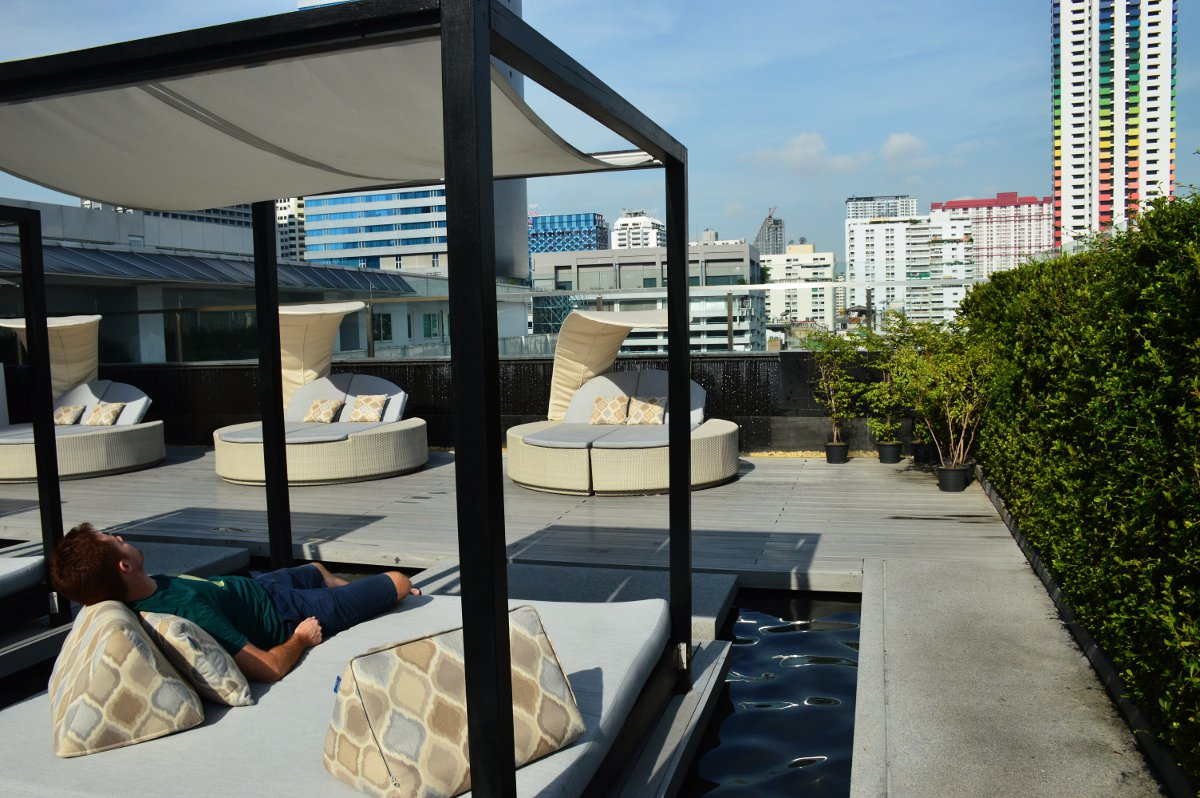 Day bed Centara Watergate Pavillion Bangkok Double-Barrelled Travel