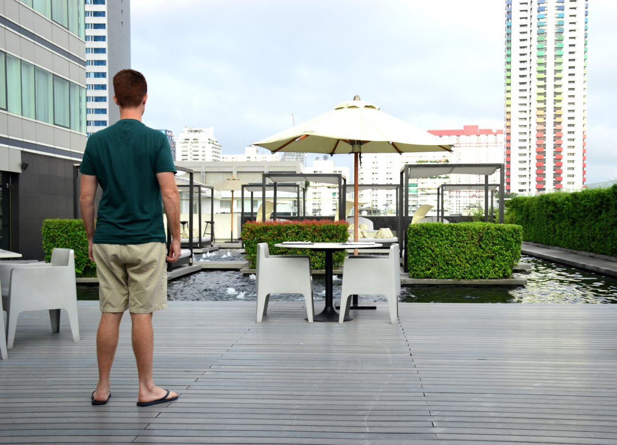 Garden Centara Watergate Pavillion Bangkok Double-Barrelled Travel