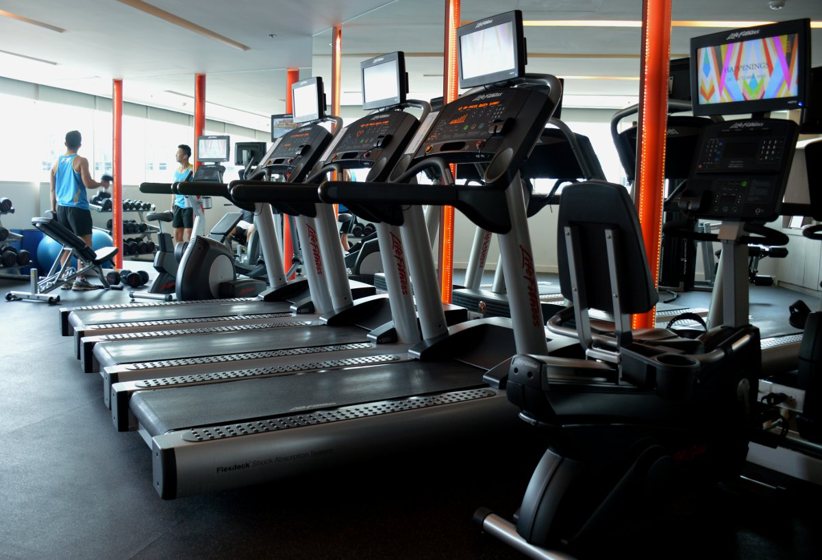 Gym Centara Watergate Pavillion Bangkok Double-Barrelled Travel