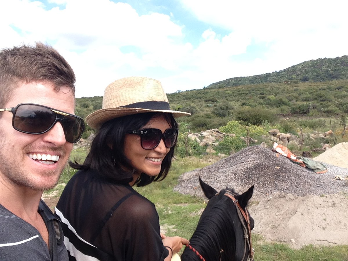 Horse riding in Mexico