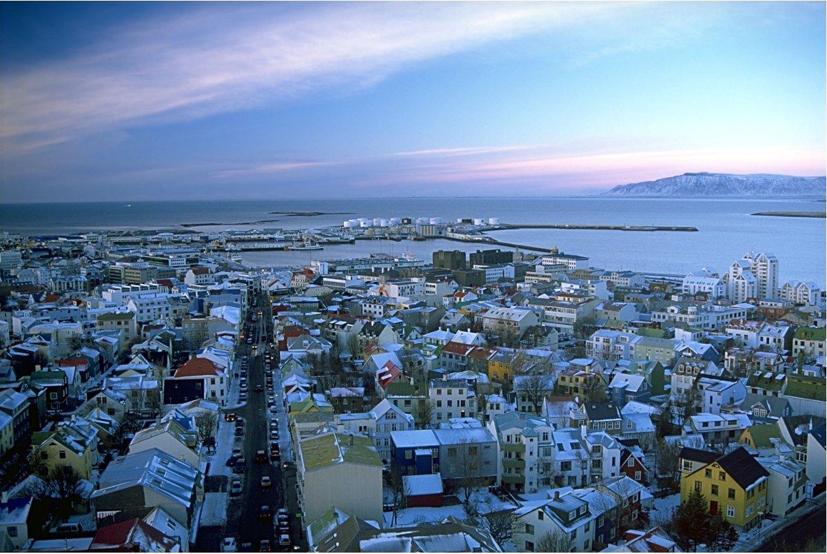 Iceland Reykajavik Double-Barrelled Travel