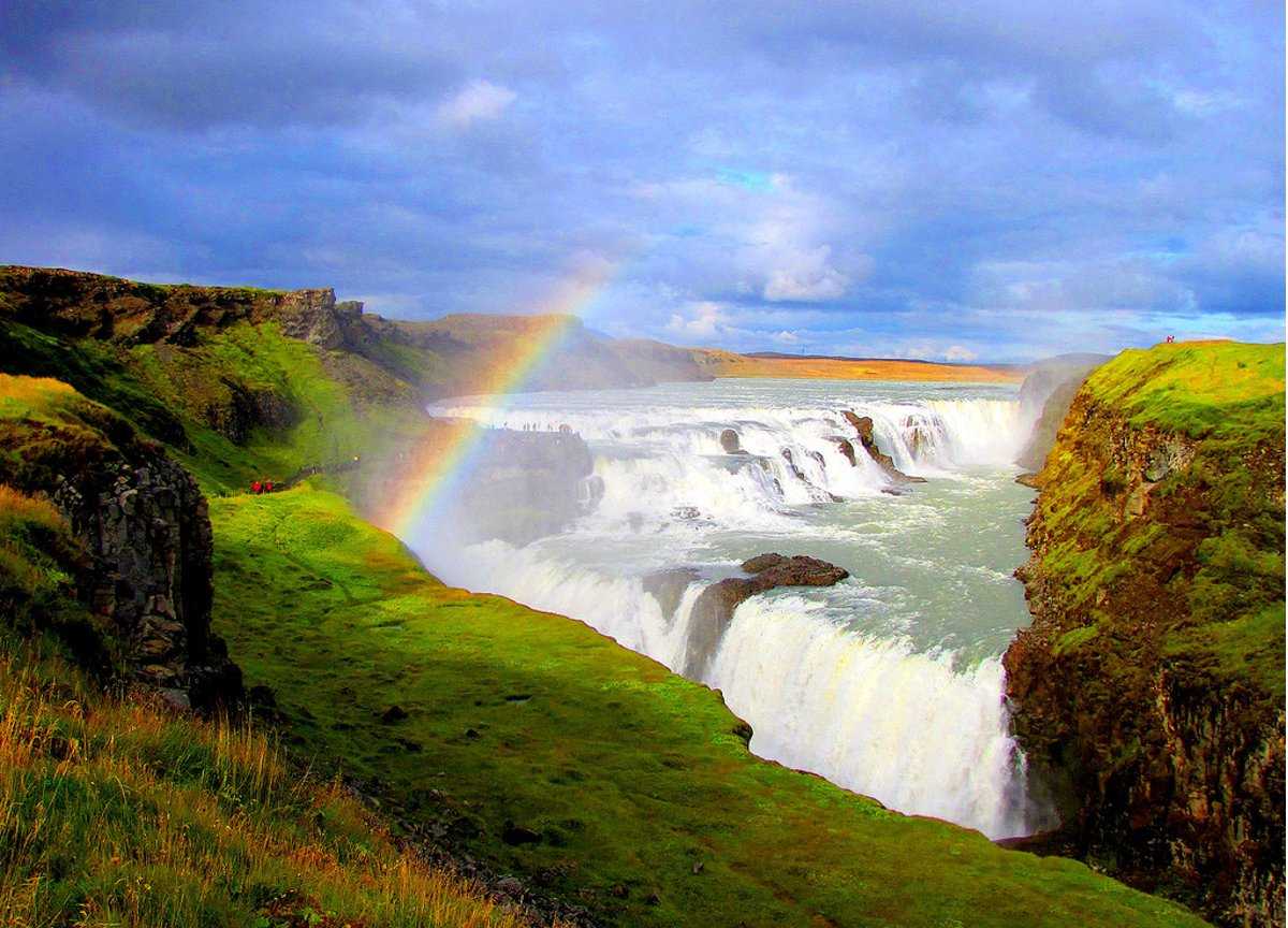 Iceland waterfall Double-Barrelled Travel