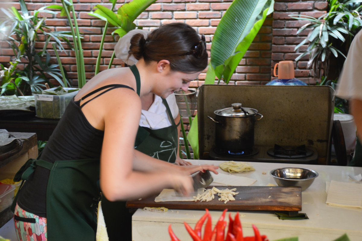 Ms Vy cooking school Hoi An Double-Barrelled Travel
