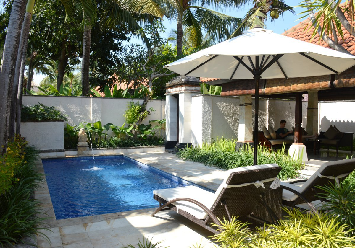 Private pool Club Villas Seminyak Double-Barrelled Travel