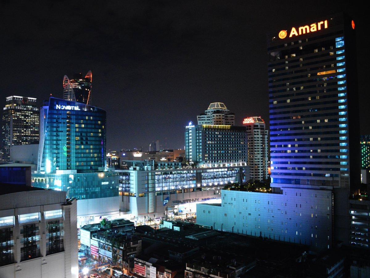 View from Centara Watergate Pavillion Bangkok Double-Barrelled Travel