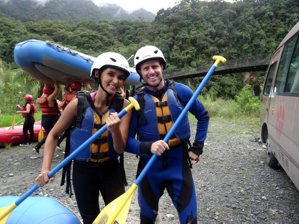 White Water Rafting, Banos, Ecuador