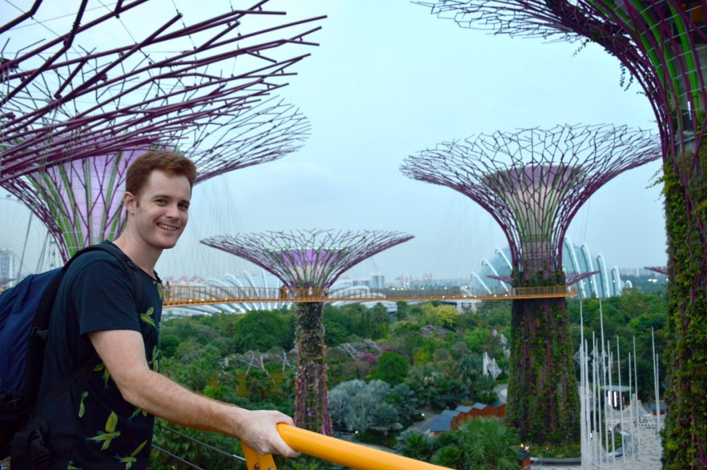 Gardens By The Bay supertrees walk Double-Barrelled Travel