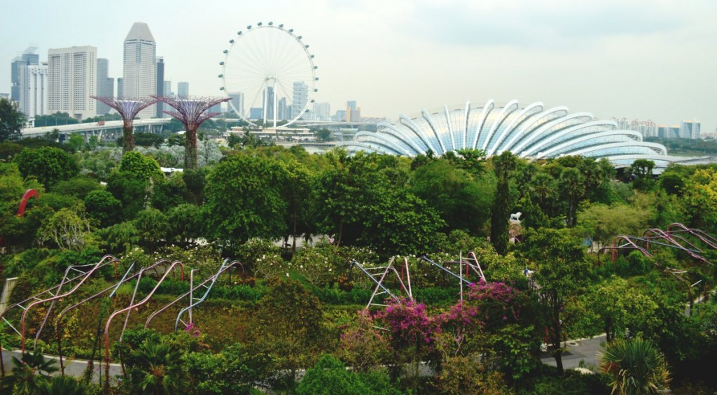 Gardens By The Bay view Double-Barrelled Travel