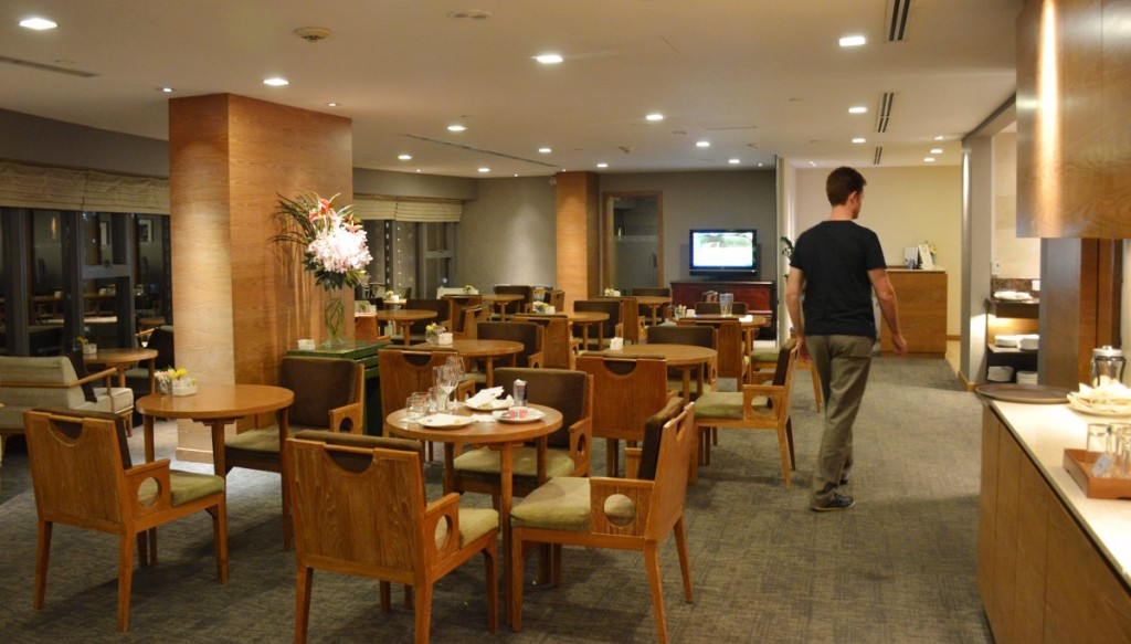 Grand Mecure Roxy business lounge Double-Barrelled Travel