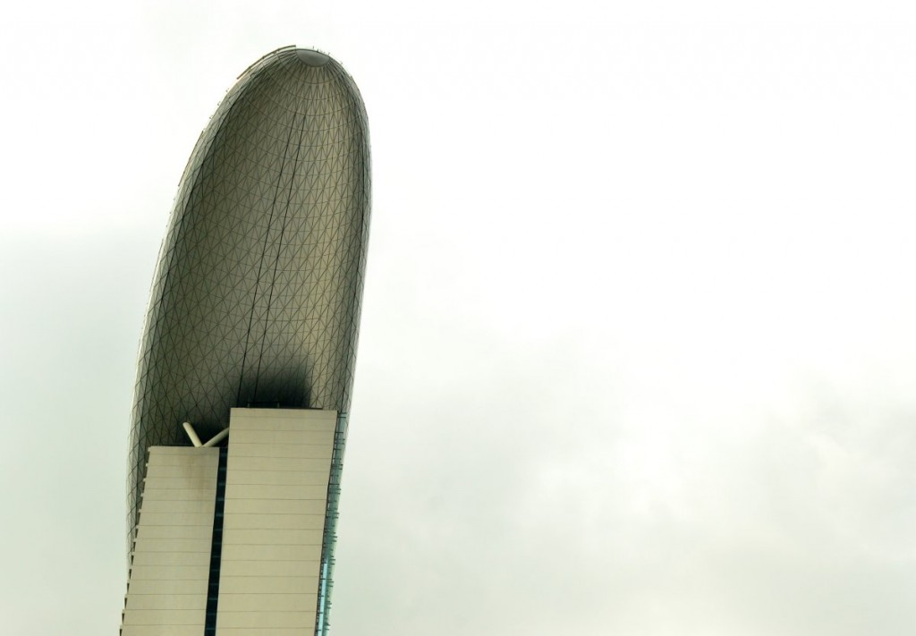 Marina Bay Sands Double-Barrelled Travel