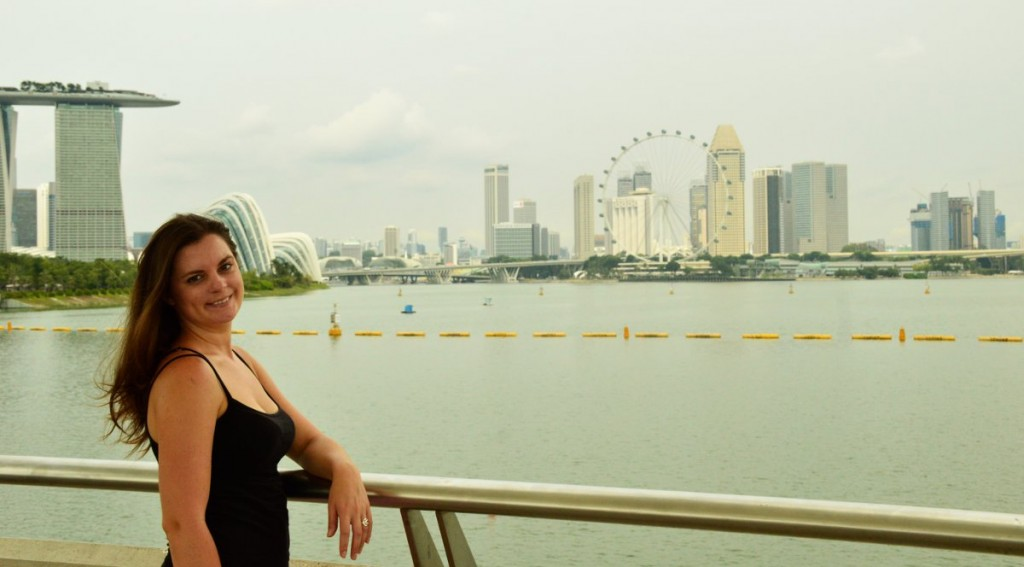 Singapore skyline Double-Barrelled Travel