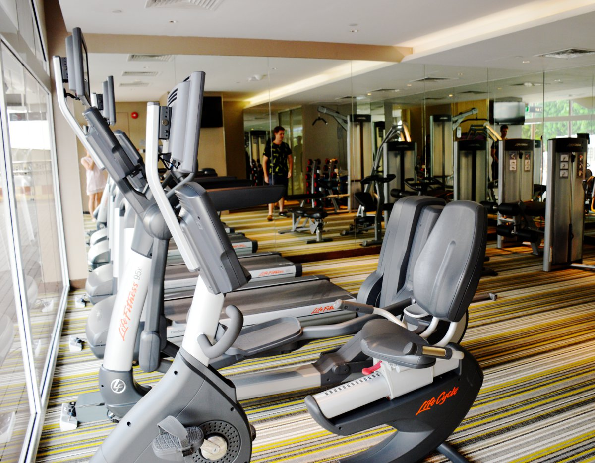 Village Hotel Katong gym Double-Barrelled Travel