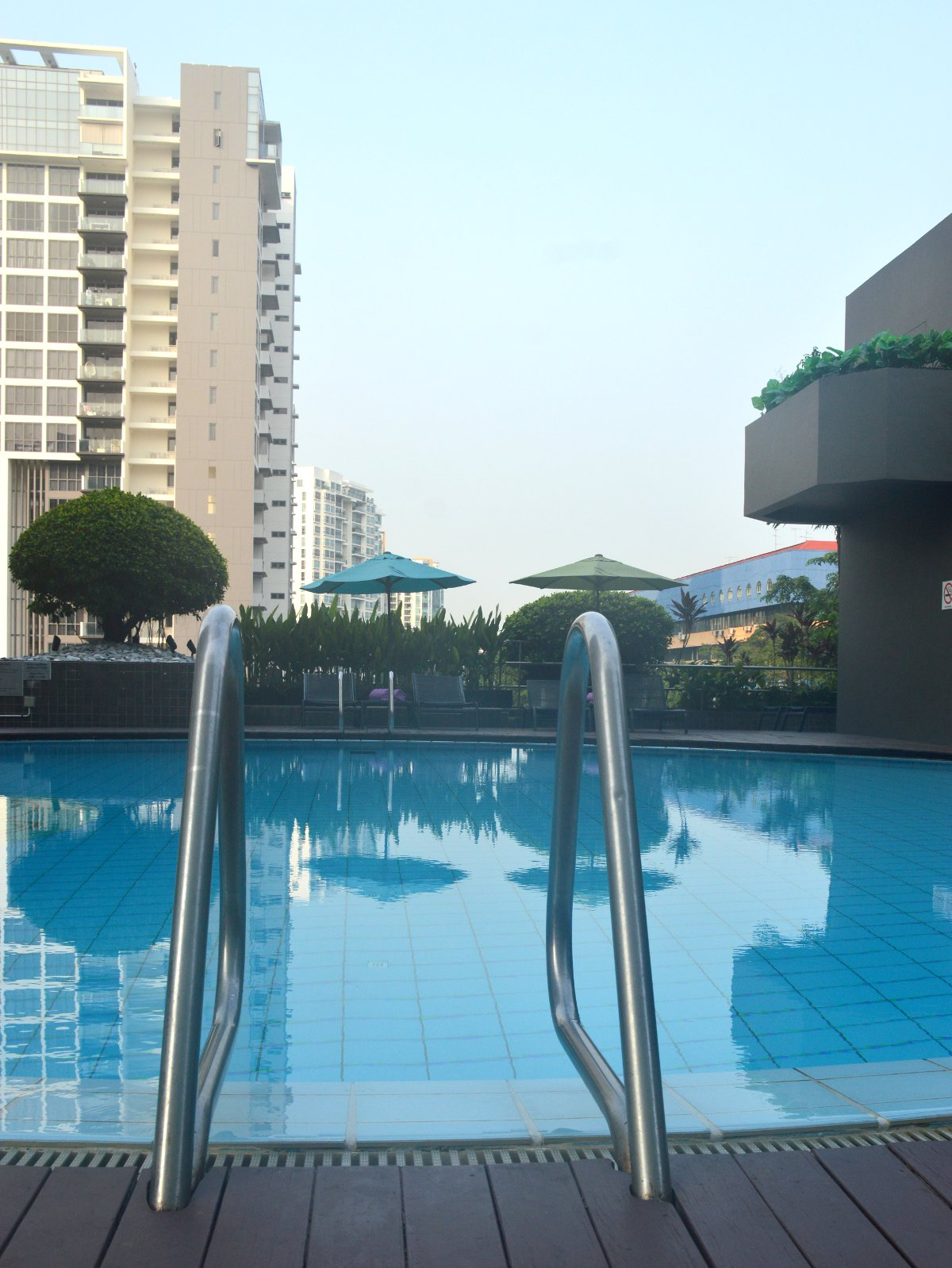 Village Hotel Katong pool Double-Barrelled Travel