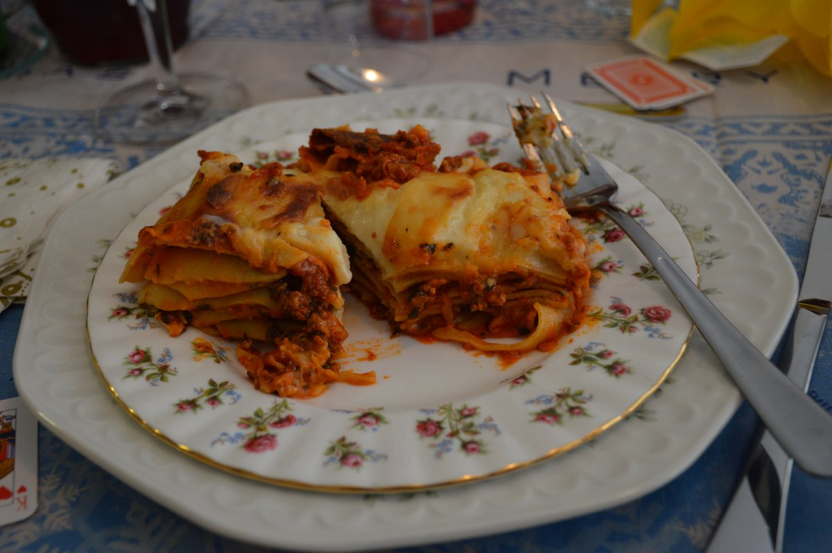 Mrs Martinelli's lasagne - the stories are true!Mrs Martinelli's lasagne - the stories are true!