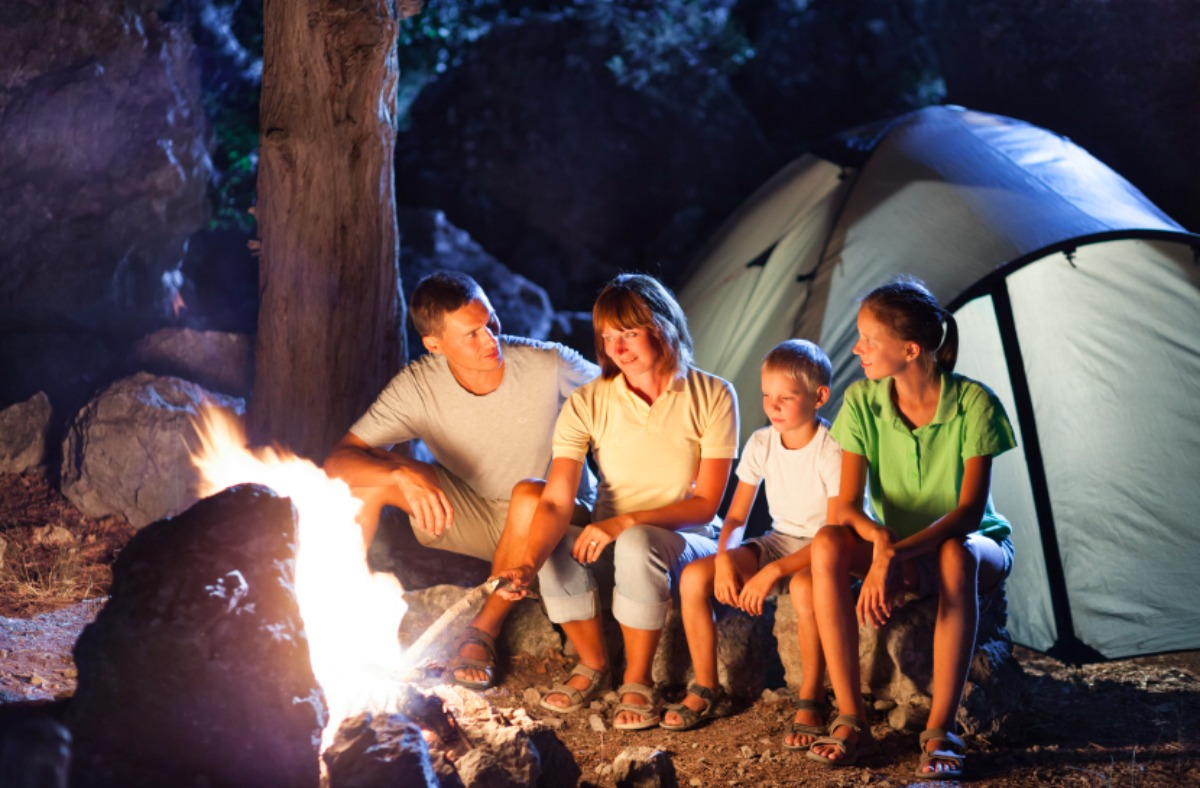 Family camping trip - Double-Barrelled Travel