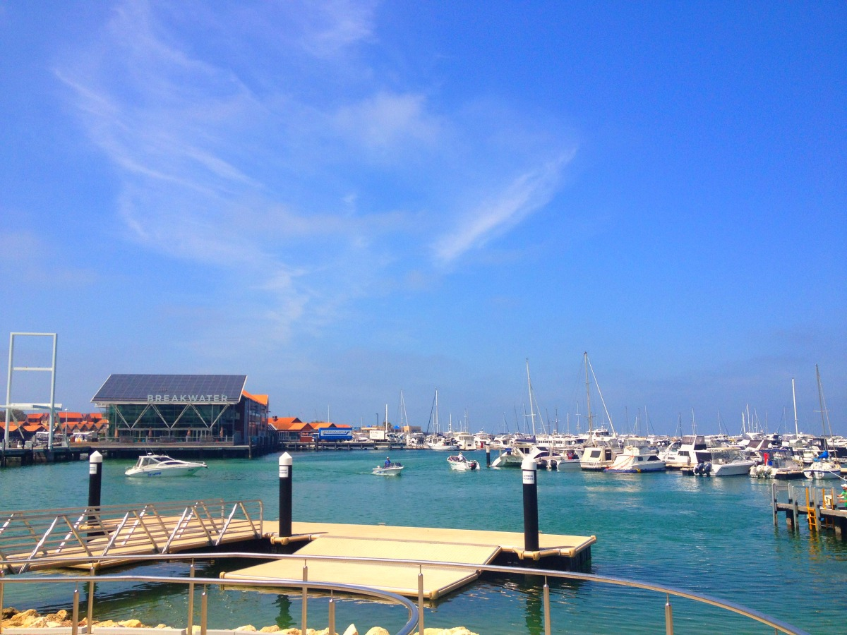 Hillarys Boat Harbour - the start of our journey...