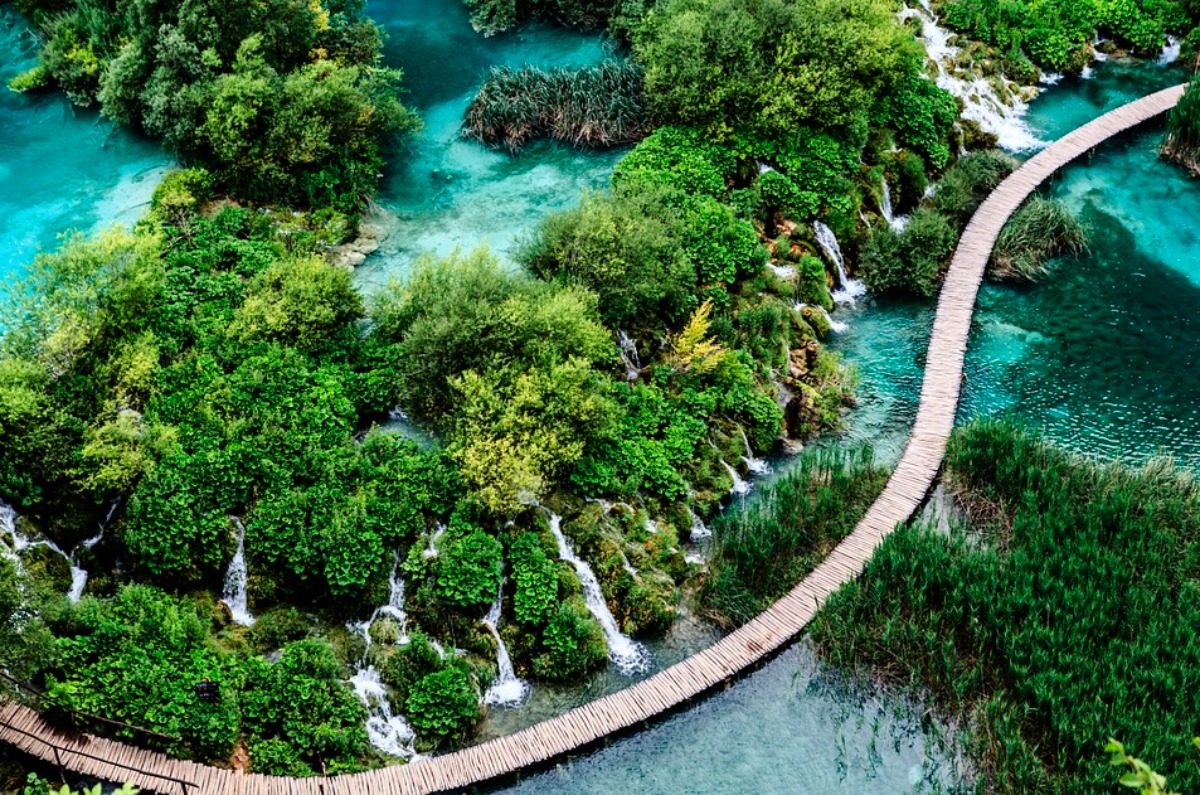 Plitvice Lakes Croatia Double-Barrelled Travel