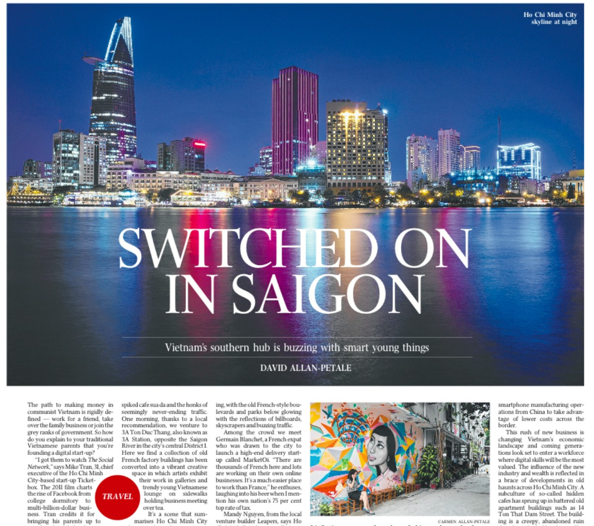The Australian - Switched On In Saigon - Double-Barrelled Travel