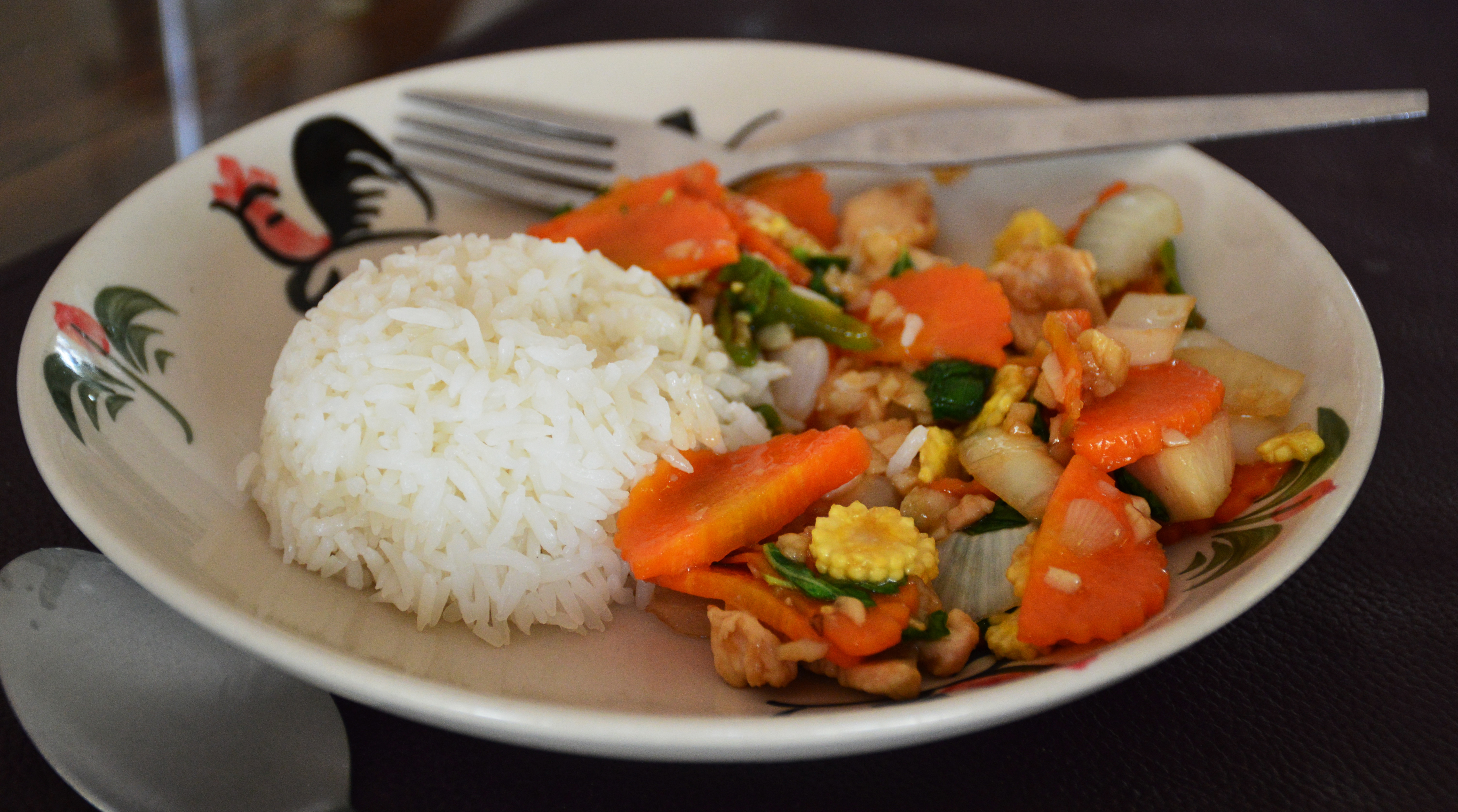 Cashew chicken Asia Scenic cooking school Double-Barrelled Travel