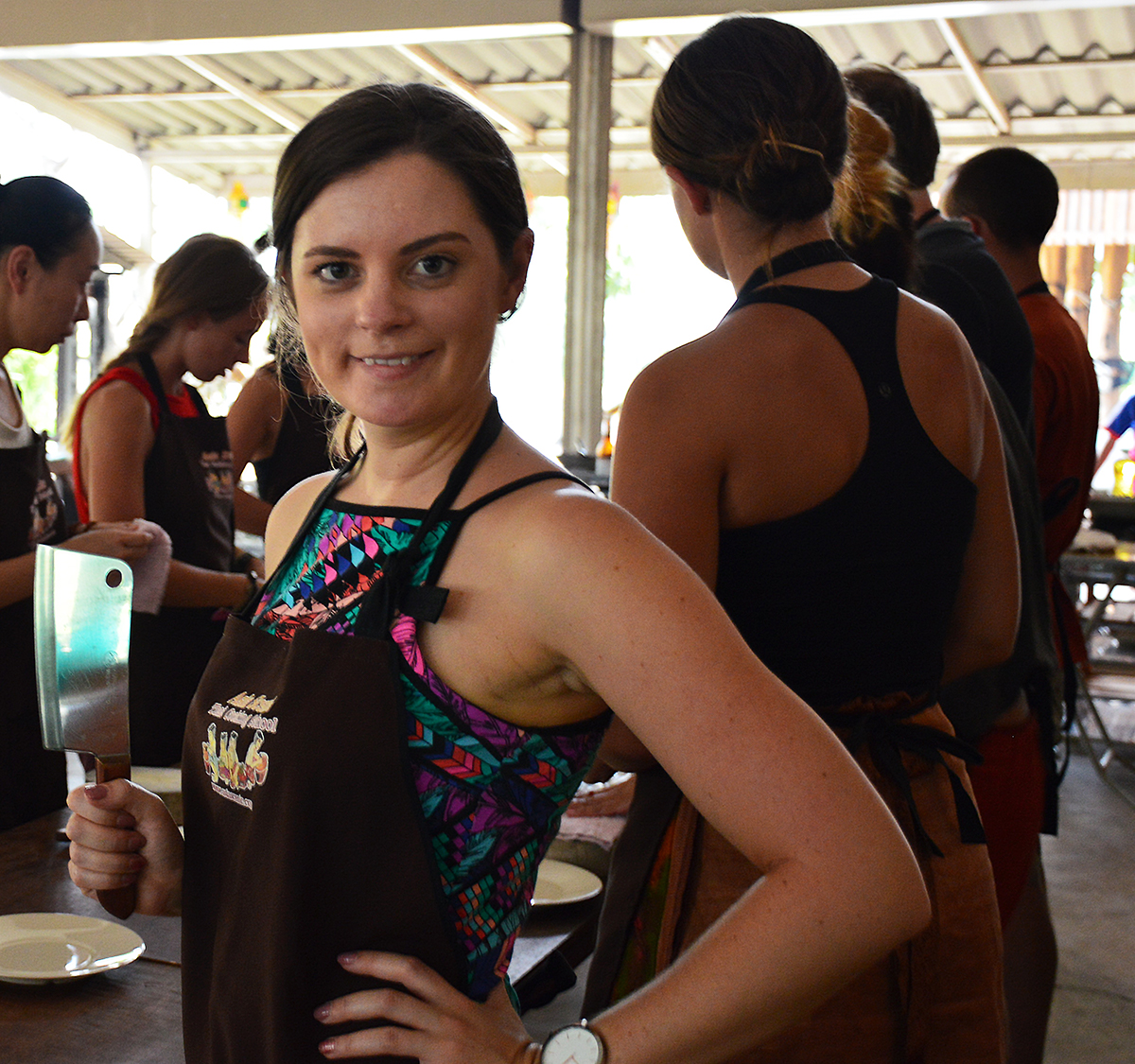 Chef Carmen Asia Scenic cooking school Double-Barrelled Travel