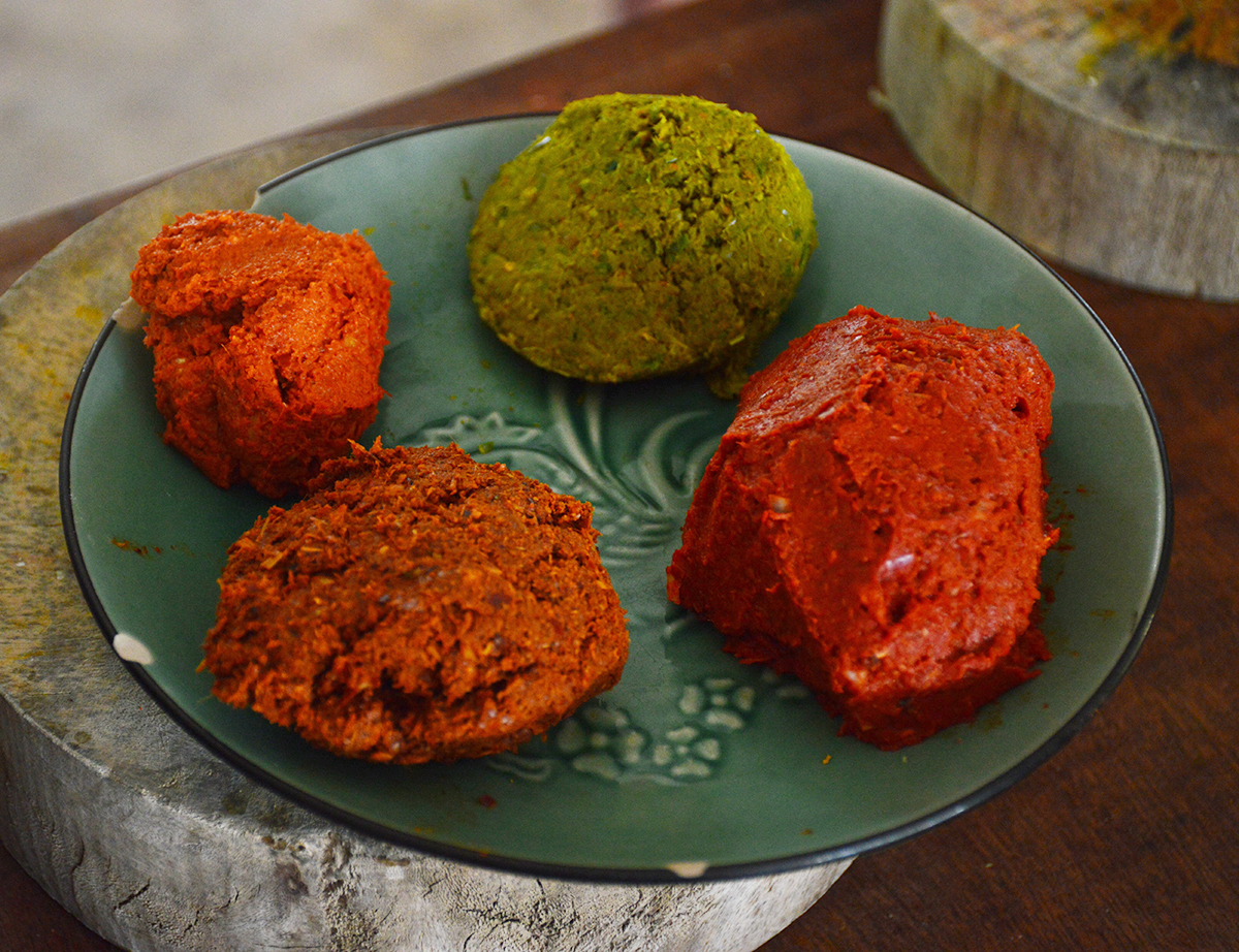 Curry paste Asia Scenic Cooking School Double-Barrelled Travel