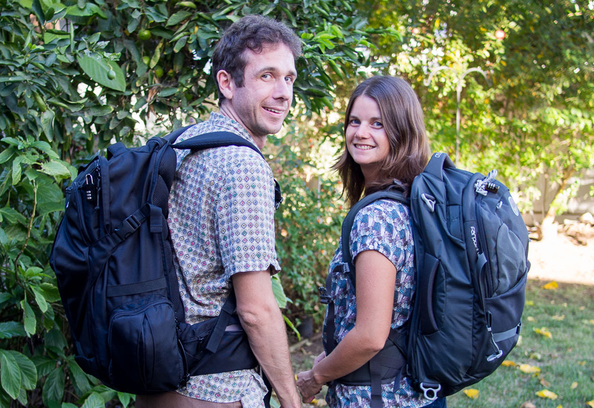 Erin and Simon Carry-On Traveller Double-Barrelled Travel