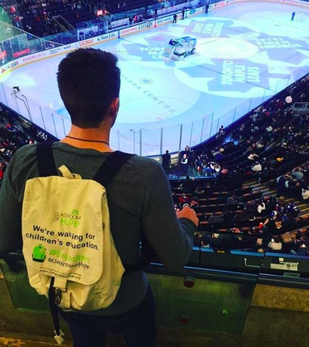 Ice hockey rink BagWalkers Double-Barrelled Travel