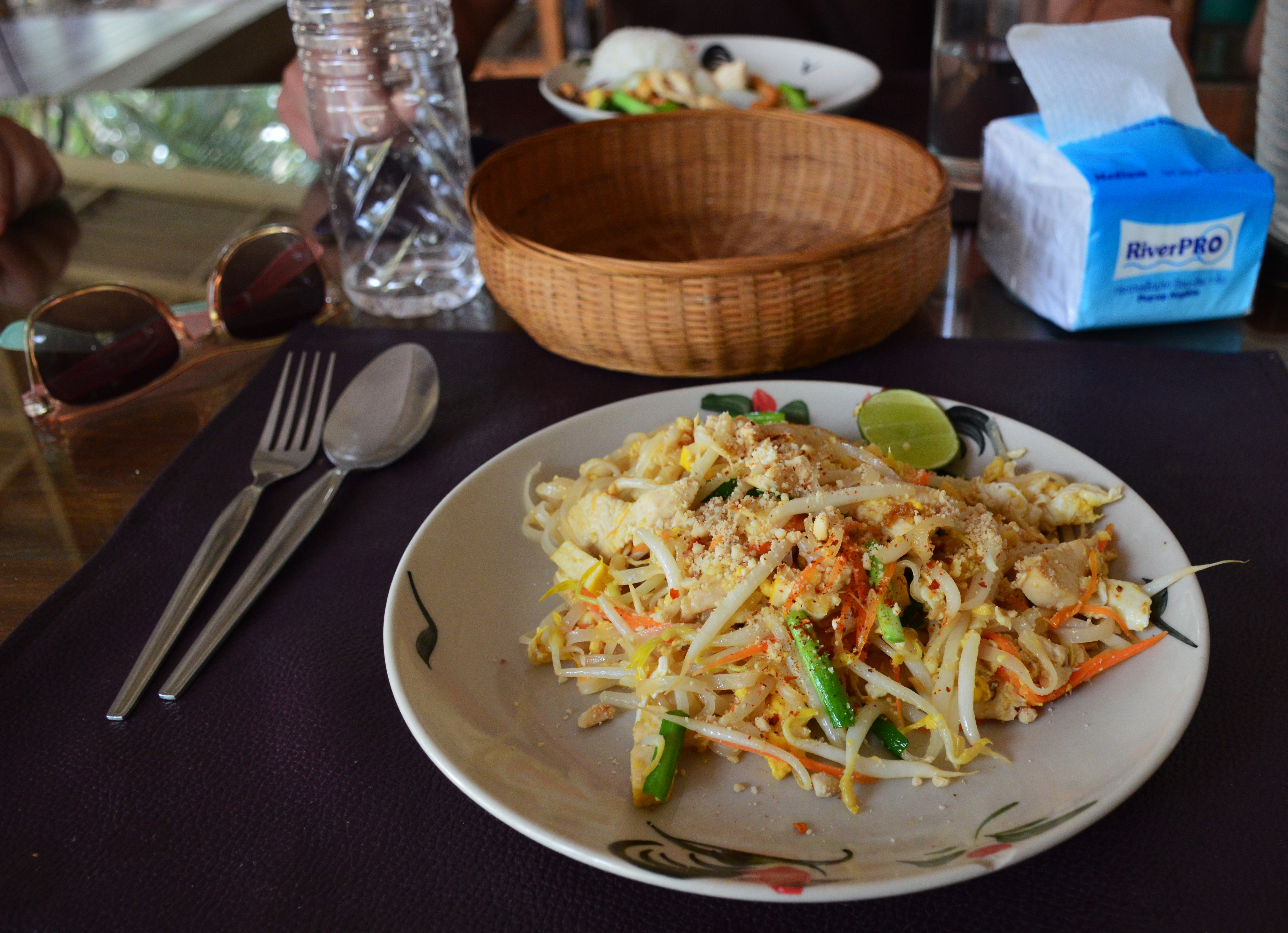 Pad thai Asia Scenic cooking school Double-Barrelled Travel