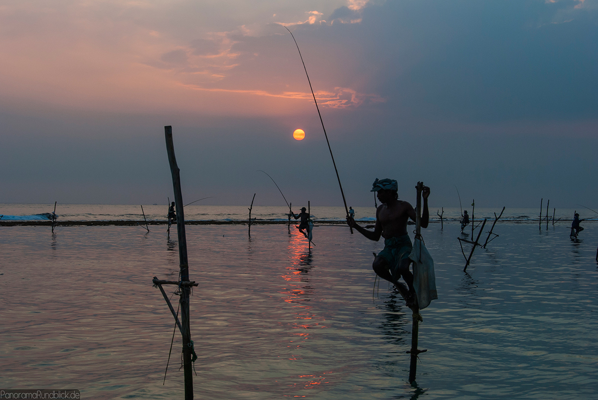 Sri Lankan fishermen Double-Barrelled Travel