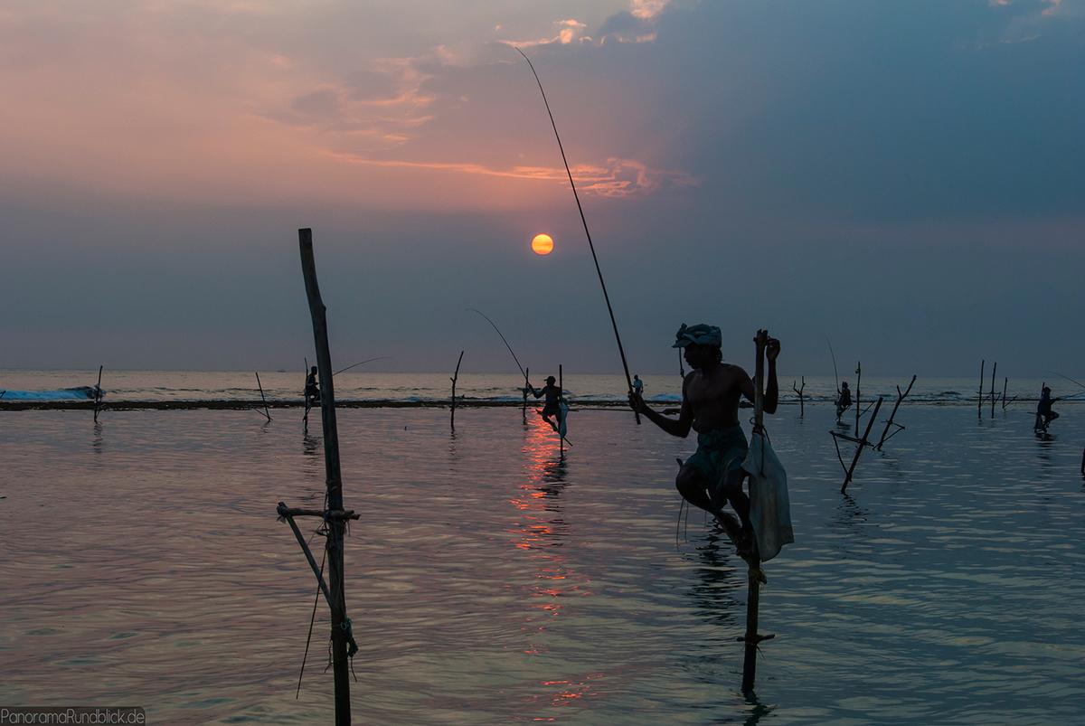 Sri Lankan fishermen Double-Barrelled Travel