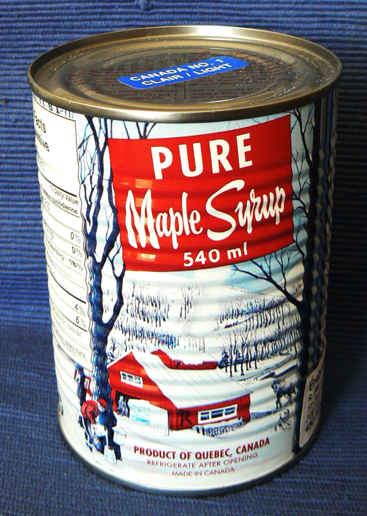 Canadian cuisine maple syrup Double-Barrelled travel