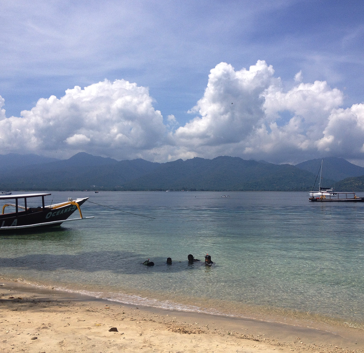 Gili Air boat Double-Barrelled Travel