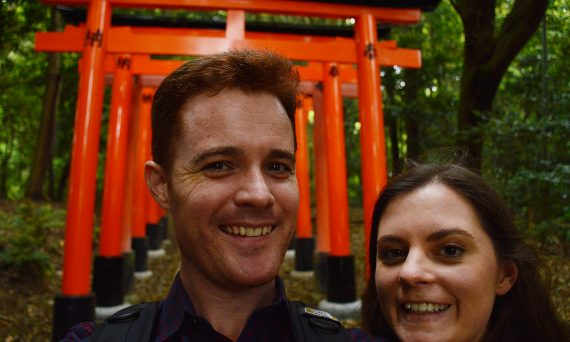 Fushimi Inari Taisha Carmen Dave Double-Barrelled travel