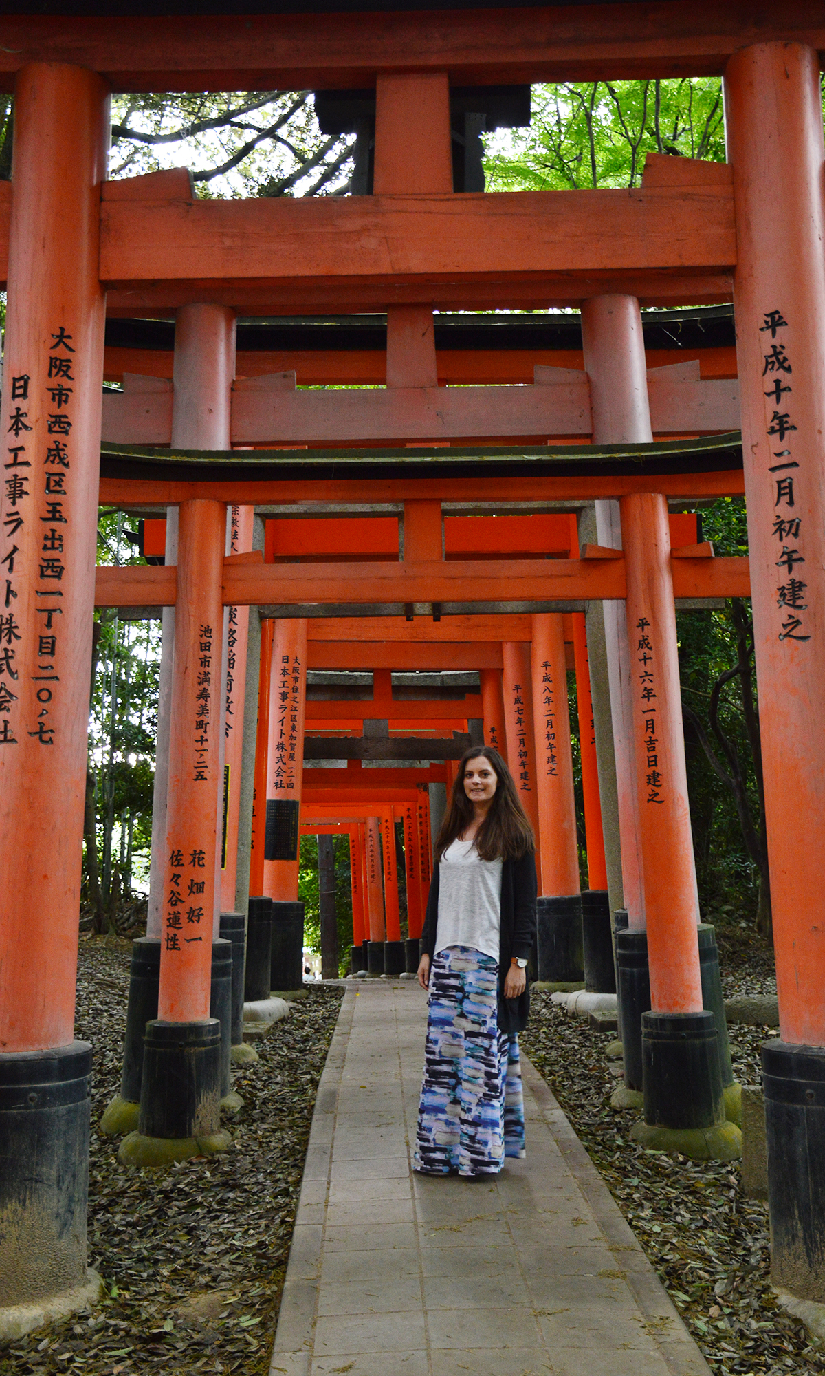 Fushimi Inari Taisha Carmen Double-Barrelled travel