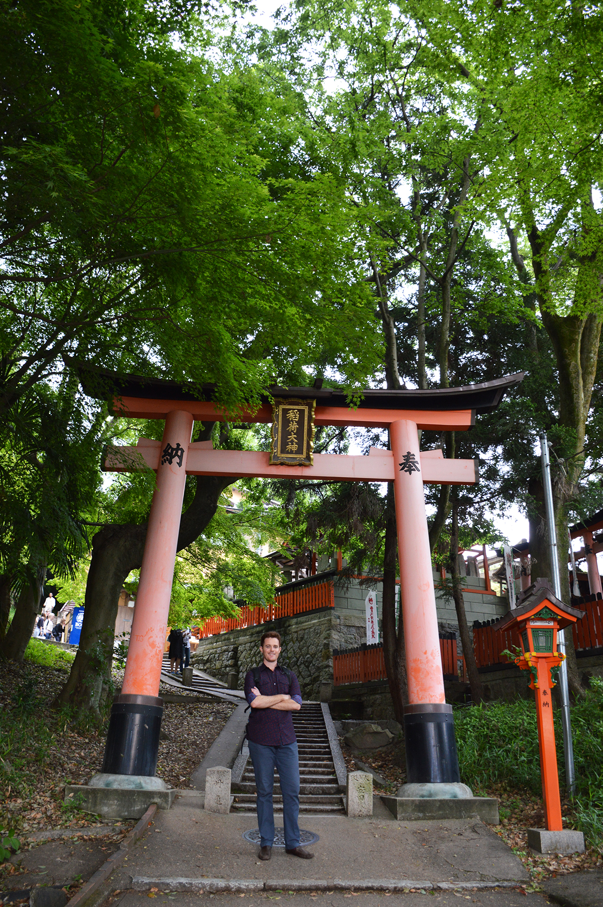 Fushimi Inari Taisha Dave Double-Barrelled travel