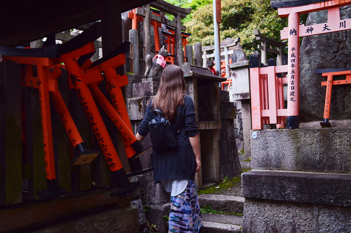 Fushimi Inari Taisha Graves Double-Barrelled travel